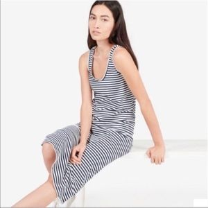 Everlane cotton striped tank dress